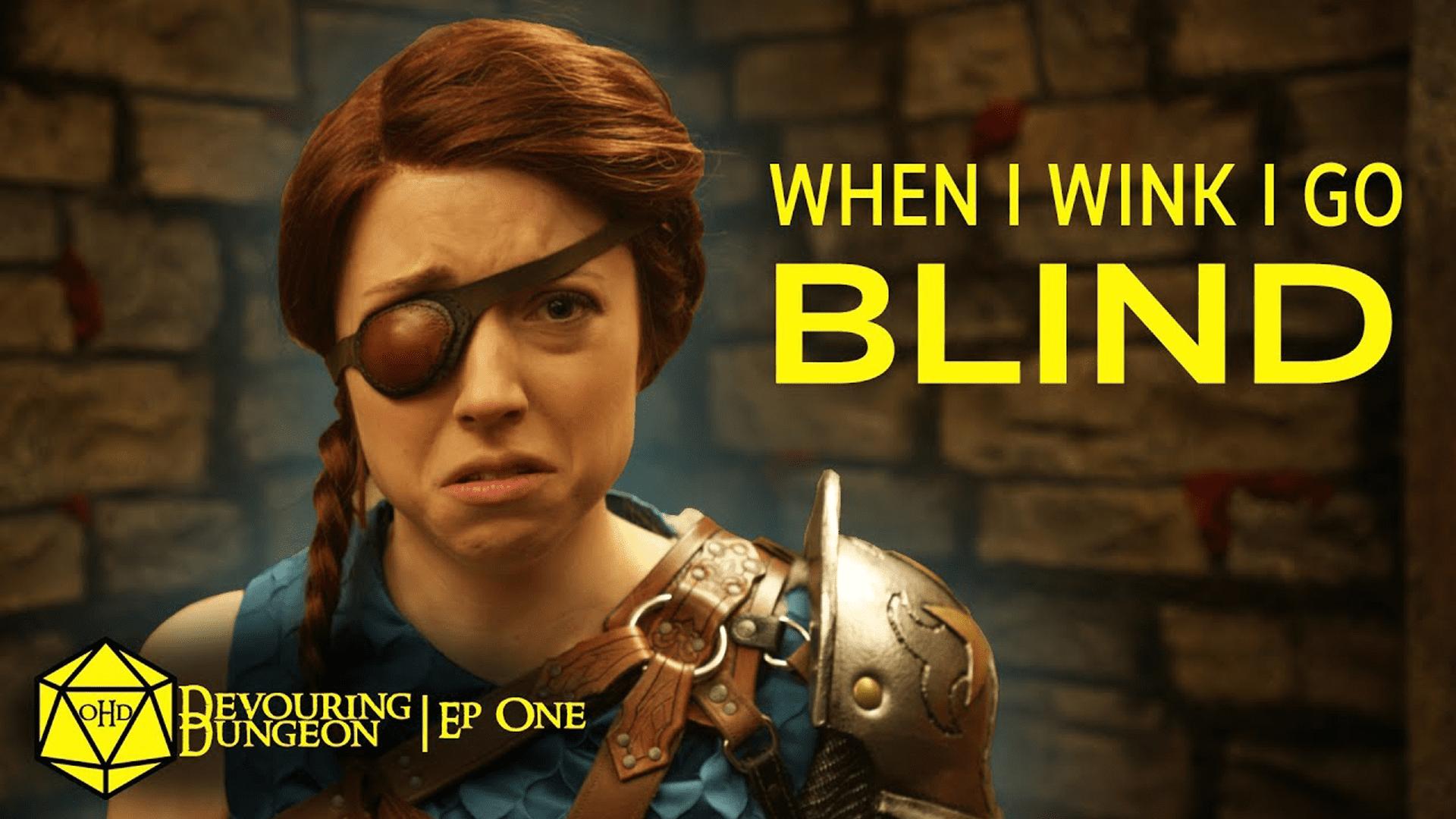 One Hit Die Devouring Dungeon Season 3 Episode 1 When I Wink I Go Blind