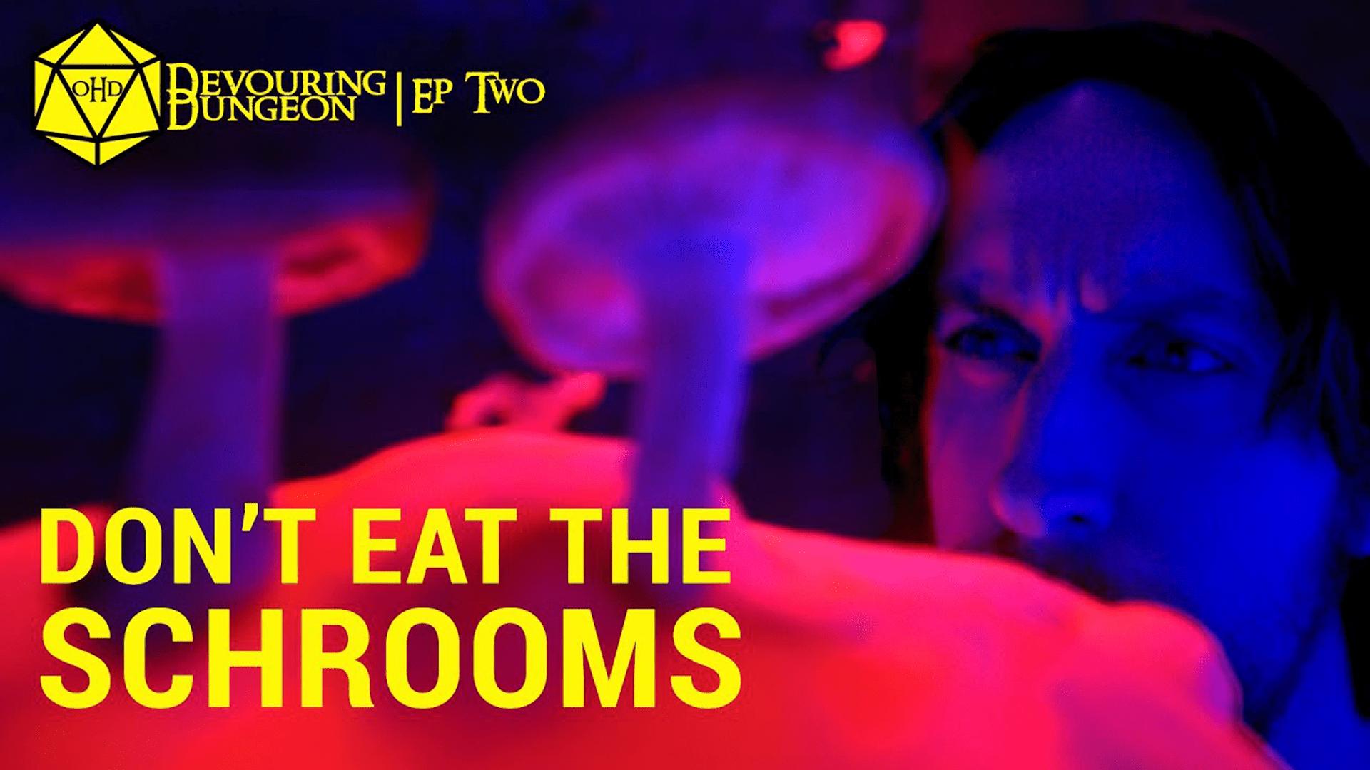 One Hit Die Devouring Dungeon Season 3 Episode 2 Don't Eat the Schrooms
