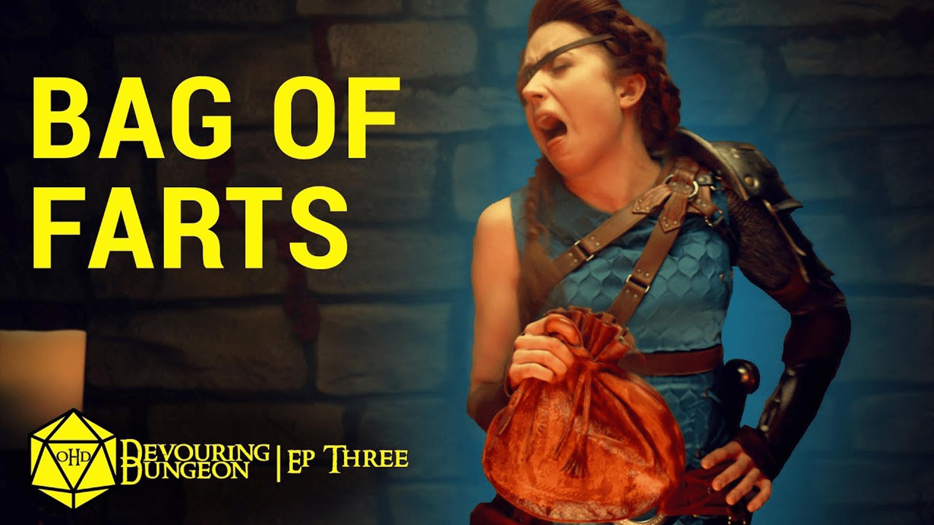 One Hit Die Devouring Dungeon Season 3 Episode 3 Bag of Farts